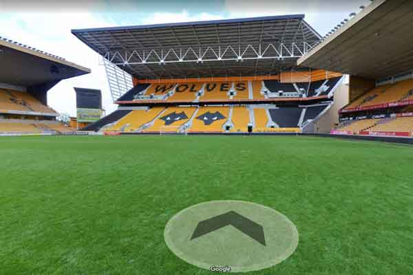 esempio tour virtuale google stadio